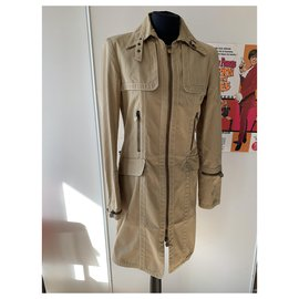 Fendi-Trench coats-Beige