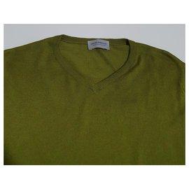 John Smedley-Sweaters-Green