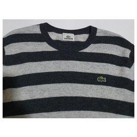 Lacoste-Sweaters-Grey,Dark grey