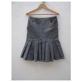 Chanel-Skirts-Grey