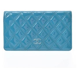 Chanel-Chanel wallet-Blue