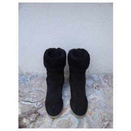 Louis Vuitton-Ankle Boots-Black