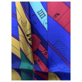 Hermès-HERMES ASTROLOGIE NOUVELLE  Square SILK SCARF-Multiple colors