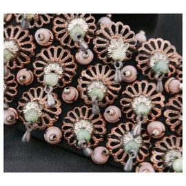 Carven-Chemise à col perlé-Noir