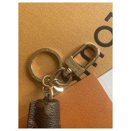 Louis Vuitton-Charm Doré Monogramme Tassel-Marron