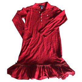 Ralph Lauren-Robes-Rouge,Jaune