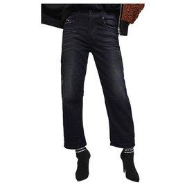 Diesel-Diesel Aryel Jeans W29 l 34 NEW-Noir