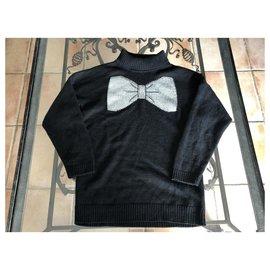 Paul & Joe-Sweaters-Black,Silvery