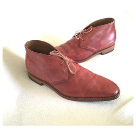 Autre Marque-Lace ups-Pink,Red