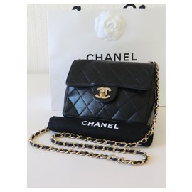 Chanel-Mini sac Chanel Timeless-Noir