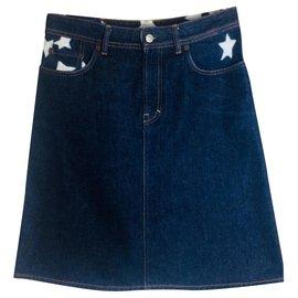 Acne-Blå Konst Star Shadow-Blue