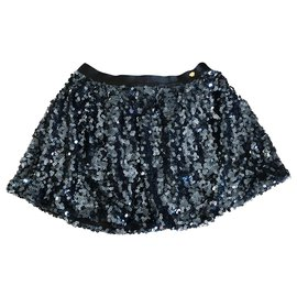 Juicy Couture-Skirts-Navy blue,Dark blue