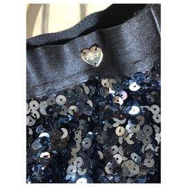 Juicy Couture-Jupes-Bleu Marine,Bleu foncé