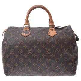 Louis Vuitton-Louis Vuitton Speedy-Brown