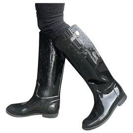 Louis Vuitton-Boots-Black
