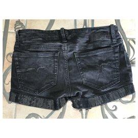 Diesel-Girl Shorts-Black