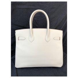 Hermès-Birkin 30-White