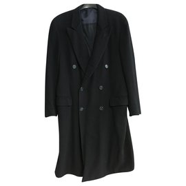 Dior-Men Coats Outerwear-Navy blue