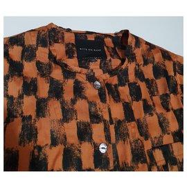 Bitte Kai Rand-Hauts-Noir,Multicolore,Orange