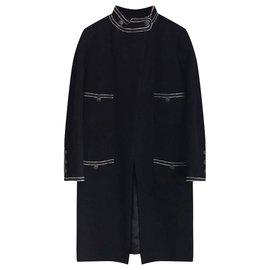 Chanel-nouveau manteau Cruise-Noir