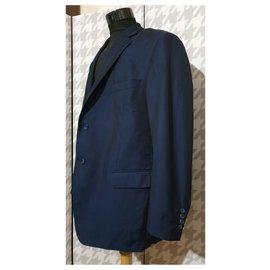 Balmain-Blazers Jackets-Blue