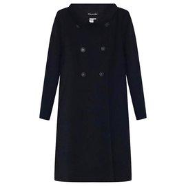 Chanel-nouveau manteau CC-Noir