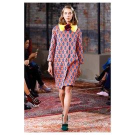 Gucci-7K $ NEW manteau jacquard-Multicolore