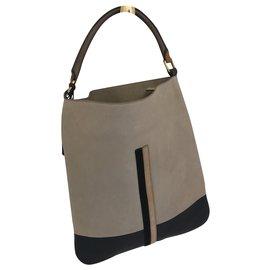 Céline-Céline bag-Brown,Beige,Light brown,Dark brown
