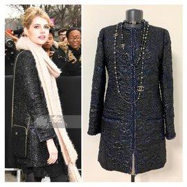 Chanel-2019 Manteau d'automne-Noir