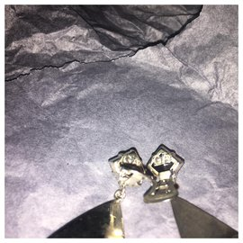 Giorgio Armani-Earrings-Black