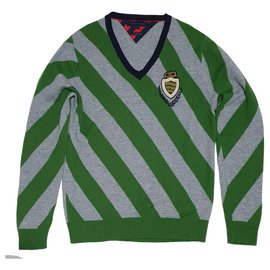 Tommy Hilfiger-Sweaters-Green,Grey