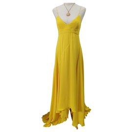 Dior-Robes-Jaune