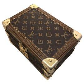 Louis Vuitton-LV Coffret Tresor new-Brown