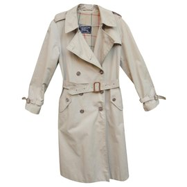 Burberry-trench femme Burberry vintagesixties t 38-Beige