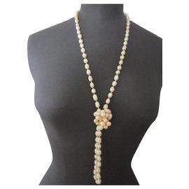 inconnue-Necklaces-Beige