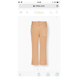 Chloé-Chloe Trousers-Cream