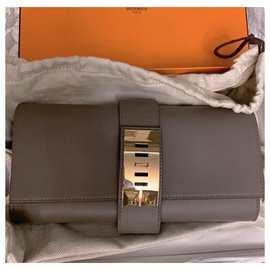 Hermès-MEDOR CLUTCH-Grey