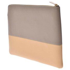 Céline-Céline Clutch Bag-Grey