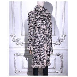 Chanel-10K$ coat + scarf-Multiple colors