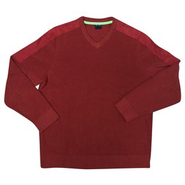 Saint James-Sweaters-Red