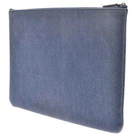 Chanel-Chanel clutch bag-Blue