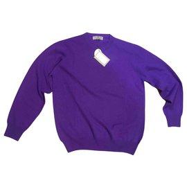 Autre Marque-ALAN PAINE Sweater-Purple