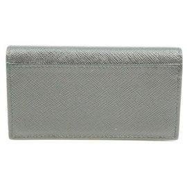 Prada-Prada card case Mens business card case 2mc122 NERO( black)-Black,Other