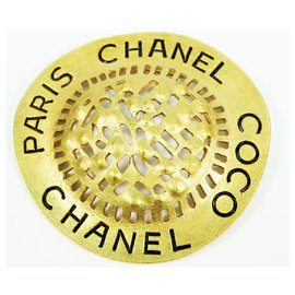 Chanel-CHANEL COCO GP Broche Femme Or-Autre