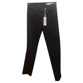 Diesel-Diesel Sandy Jeans W26 l32-Bleu foncé