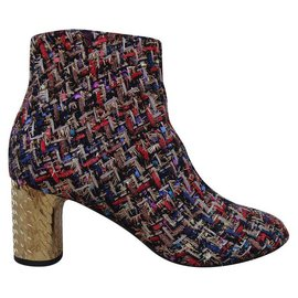 Casadei-Ankle Boots-Multiple colors,Golden