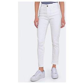 Armani Jeans-Jean Armani Daliah en blanc W29 l-Blanc