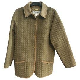 Dior-Manteaux, Vêtements d'extérieur-Beige