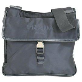 Prada-Prada Shoulder bag-Navy blue
