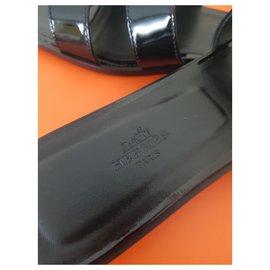 Hermès-Oran Nail Polish So Black-Black